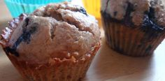 Paleo blueberry muffins- reminder to myself that this is where the recipe is