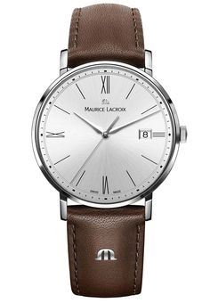 Maurice Lacroix Watch Eliros Date #basel-15 #bezel-fixed #bracelet-strap-leather #brand-maurice-lacroix #case-material-steel #case-width-38mm #date-yes #delivery-timescale-call-us #dial-colour-silver #gender-mens #luxury #movement-quartz-battery #new-product-yes #official-stockist-for-maurice-lacroix-watches #packaging-maurice-lacroix-watch-packaging #style-dress #subcat-eliros #supplier-model-no-el1087-ss001-112-002 #warranty-maurice-lacroix-official-2-year-guarantee #water-resistant-50m