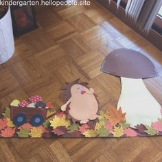 Top 40 Examples for Handmade Paper Events - Everything About Kindergarten Preschool Crafts, Diy Crafts For Kids, Art For Kids, Autumn Crafts, Autumn Art, Autumn Activities, Activities For Kids, Felt Crafts, Paper Crafts