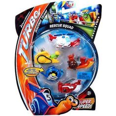 Turbo Movie Moments Rescue Squad Figure 5-Pack, Multicolor