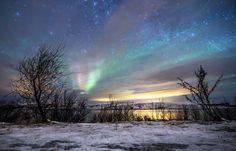 The Arctic evening sky outside Kirkenes. Photo by Kirkenes Snowhotel Arctic Explorers, Northern Lights Norway, Unusual Hotels, Kirkenes, Train Journey, By Train, Best Hotels, Beautiful Places, Europe