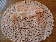 Beautiful baby crochet dress!! Vestido para Bebe y cualquier talla parte 2 de 2 MilArt Marroquin - YouTube