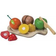 Plan Toys // Snijset fruit, Plan Toys