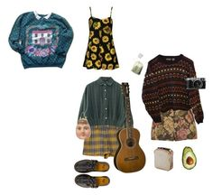 """""""Без названия #8"""" by kats-2 on Polyvore featuring мода, Parisian, INDIE HAIR, Motel, Dr. Martens и One Hundred 80 Degrees"""
