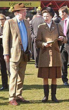 March 18, 2005 - Cheltenham Festival Stock Pictures, Stock Photos, Bbc Broadcast, Princess Anne, British Royals, March, Lady, Fashion, Moda