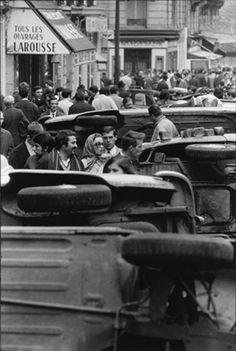 Rue Gay-Lussac, Paris, May 1968.