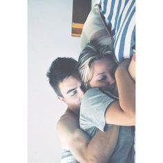 7 Incredible Benefits of Cuddling ❤ liked on Polyvore featuring couples, backgrounds and people