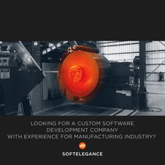Looking for a custom software development company with experience for manufacturing industry? http://www.softelegance.com
