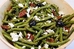 Grüner Bohnensalat mit getrockneten Tomaten (Rezept mit Bild) | Chefkoch.de (Best Salad Recipes)