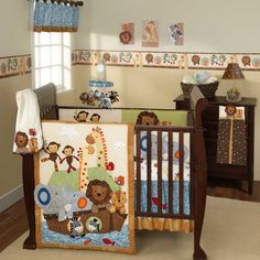 Lambs & Ivy S.S. Noah 5 Piece Bedding Set - I just want the quilt