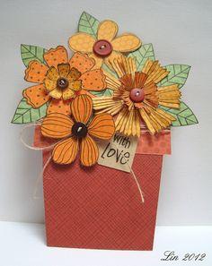 flower pot card.