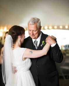 """Kelly Marie and her father danced to """"God Only Knows"""" by The Beach Boys."""