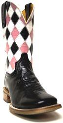"Tin Haul Women's Boots- ""The Anvil & Diamonds"""