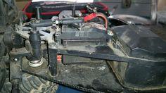 Die Kunststoff Servo Saver werden gegen Aluminium Servo Saver ausgetauscht.