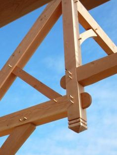 Timber Frame Joinery Details | Timberpeg Timber Frame | Timber Framing | Timber Frame Company | Timber Framer