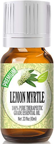 Lemon Myrtle 100 Pure Best Therapeutic Grade Essential Oil  10ml * Check this awesome product by going to the link at the image.