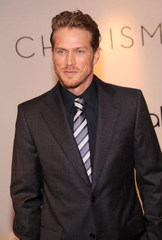 Actor Jason Lewis promotes the Charisma Spring 2010 Collection at Bloomingdale's on March 10 2010 in New York City