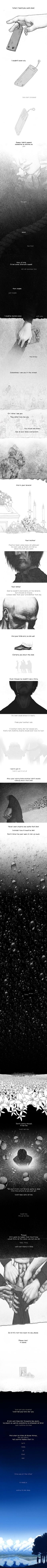 This is so sad, and touching. I just saw it and had to repin. A MUST SEE -- Your Suicide by ~linnyxito on deviantART: