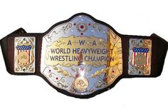 For this very special edition of Abandoned, I present the AWA World Heavyweight Championship! The American Wrestling Association was founded in but before that, they were a . Awa Wrestling, Japan Pro Wrestling, Wrestling Superstars, Wwe Championship Belts, World Heavyweight Championship, World Championship, Wwe Belts, Best Wrestlers, Ric Flair