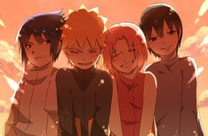 Tags: Fanart, NARUTO, Haruno Sakura, Uzumaki Naruto, Uchiha Sasuke, Sai, Pixiv, Team 7, Fanart From Pixiv, Pixiv Id 4519096