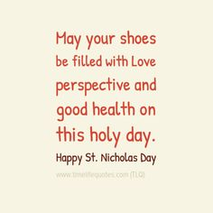 Famous Saint Nicholas Day Quotes And Sayings