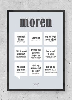 Danish Language, Games For Kids, Funny Images, Puns, Quotations, Texts, Verses, Haha, Inspirational Quotes