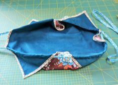 Japanischen Lotus Beutel nähen Häkelanleitung Baby, Stoff Design, Lotus, Coin Purse, Purses, Kids, Organizer, Fashion, Bags