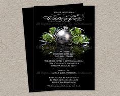 Printable Christmas Invitation  Printable by iDesignStationery, $12.95