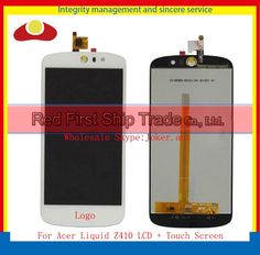 """27.50$  Watch here - http://aiwtt.worlditems.win/all/product.php?id=32719769672 - """"High Quality 5.0"""""""" For Acer Liquid Z530 Full Lcd Display Touch Screen Digitizer Assembly Complete Panel Lens Black White+Tracking"""""""