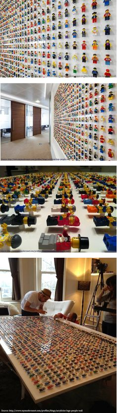 Lego @ office deco