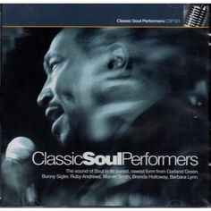 CLASSIC SOUL PERFORMERS CD (Live Recordings)