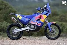 Cyril Despres' Dakar bike (KTM)...