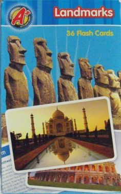 A+ Landmarks 36 Flash Cards by Creative Edge. $6.95. Makes a great gift!