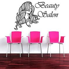 Hair Salon Wall Decor beauty salon wall decal barber shop decor vinyl stickers men hair