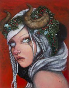 Hel, Mother of Krampus By Laurie McClave | gdfalksen.com