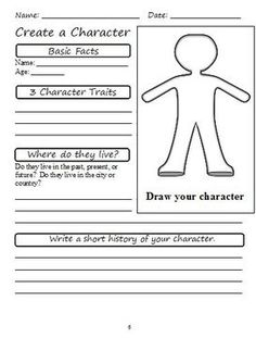 character feelings graphic organizer grade 2 | These graphic organizers will be available as a free download until ...