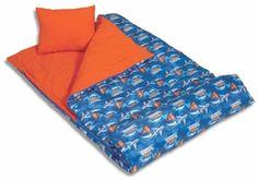 TRAINS, PLANES, & BOATS Slumber Bags Kids Sleeping Bags, Planes, Trains, Boats, Bed, Airplanes, Ships, Aircraft, Beds