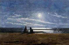 Moonlight, Winslow Homer, 1874