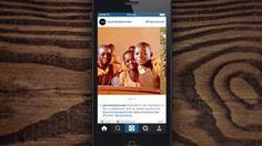 #Instagram introduce Carousel Ads