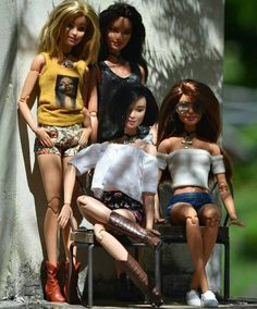 Friendly and girly Barbie