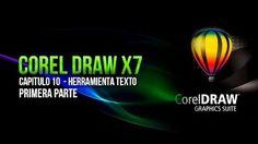 COREL DRAW X7 BASICO │CAPITULO 10 - Herramienta texto / Parte 1 - YouTube
