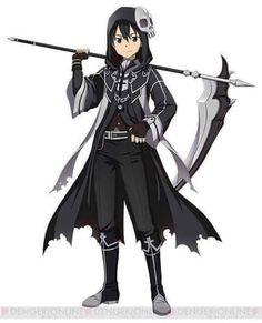 Kirito (Kazuto) - By Sword Art Online ღ Anime Chibi, Anime Pokemon, Anime W, Sword Art Online Asuna, Kirito Sword, Kirito Kirigaya, Kirito Asuna, Art Kawaii, Anime Kawaii