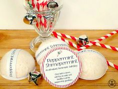 Holiday Gift Idea: Peppermint Bath Bomb Recipe Tutorial by Ruffles and Rain Boots