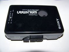 Personal Cassette Players: Sony Walkman Portable Cassette Player Am/Fm Radio Wm-Af22 BUY IT NOW ONLY: $211.95