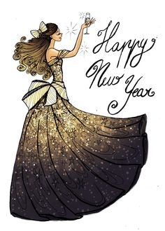 Happy New Year!! by La-Chapeliere-Folle on DeviantArt