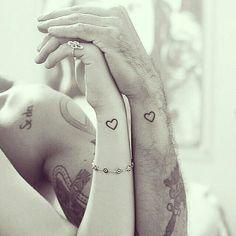 48 idées de tatouages coeur tellement mignons que vous voudrez les mêmes | #3