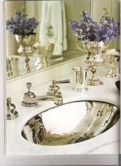 Powder room Sink and Faucet