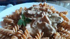 FOTORECEPT: Hovädzí stroganov Chicken, Meat, Food, Essen, Yemek, Buffalo Chicken, Cubs, Meals, Rooster