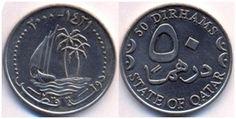 Qatar 50 Dirhem 2000