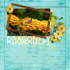 Leaming's Run Dragonfly by Betsyfru. Kit: Simplicity by Mamrotka Designs http://scrapbird.com/designers-c-73/k-m-c-73_516/mamrotka-designs-c-73_516_85/simplicity-p-17327.html